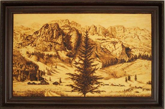 Picture of Landscape of Mountains