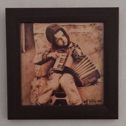 Picture of The Accordionist at the Corner
