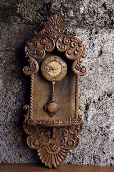 Picture of Antique Style Wall Clock