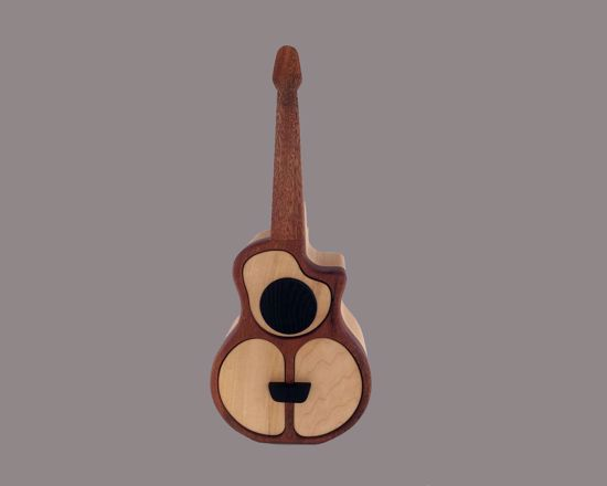 Picture of Bandsaw Box-Acoustic Guitar