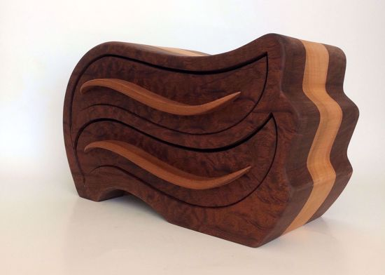Picture of Bandsaw Box -Waves