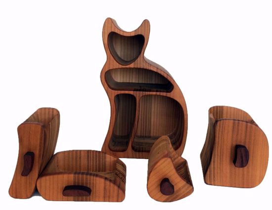 Picture of Bandsaw Box-Angora Cat
