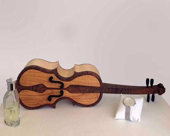 Picture of Bandsaw Box-Violin