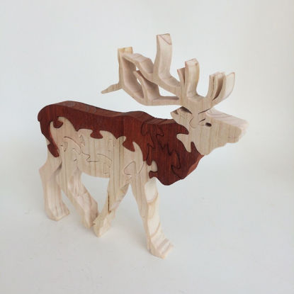 Picture of Wooden Puzzle - Elk