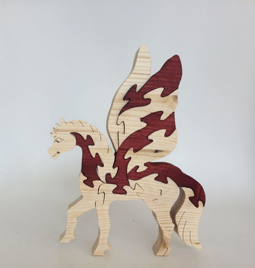 Picture of Wooden Puzzle - Pegasus